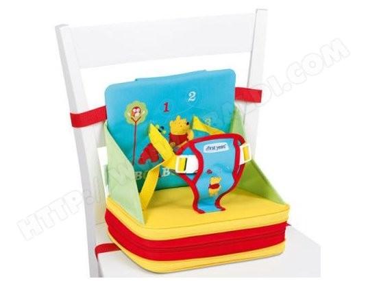 Rehausseur de chaise first years rehausseur auto gonflable winnie y9170 pas cher - Rehausseur de chaise de voyage ...