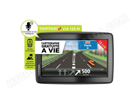 gps auto tomtom via 135 m europe 45 pays pas cher. Black Bedroom Furniture Sets. Home Design Ideas