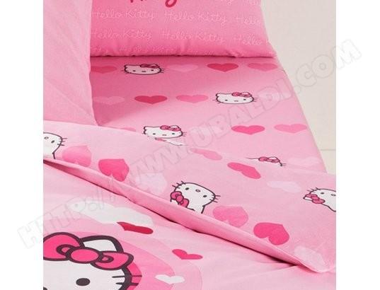 hello kitty drap housse Drap housse CTI Dh 90x190 Hello Kitty Lucie Pas Cher | UBALDI.com hello kitty drap housse