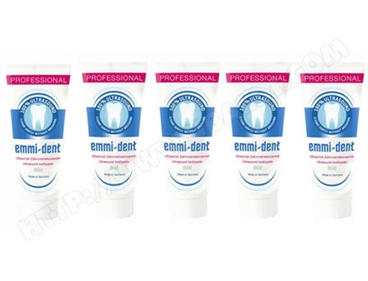 Dentifrice EMMI-DENT Emmident Fresh x 5