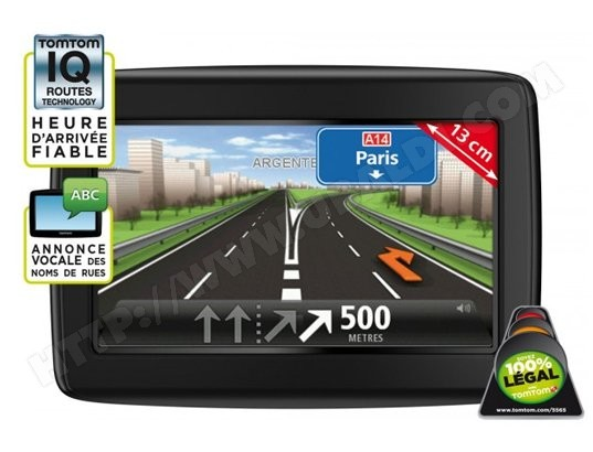GPS Auto TOMTOM Start 25 NF Europe 23 pays