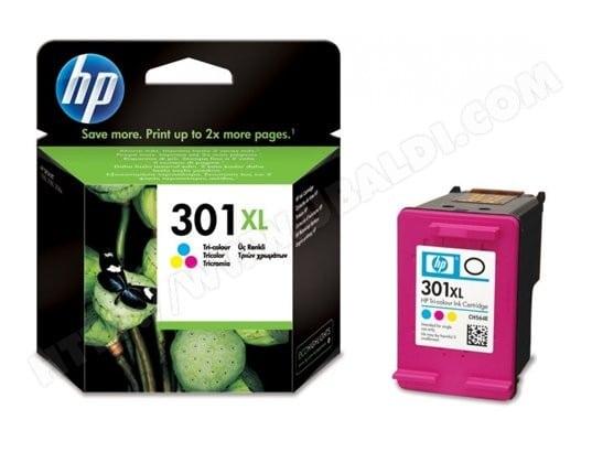 Cartouche d'encre HP HP301 XL pack couleurs