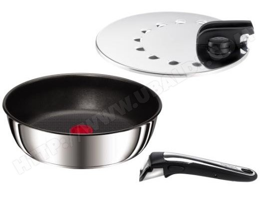 Sauteuse TEFAL L9283302 Ingenio inox Gourmet 26 cm