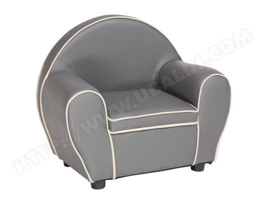 fauteuil enfant babysun fauteuil club gris bk80 pas cher. Black Bedroom Furniture Sets. Home Design Ideas