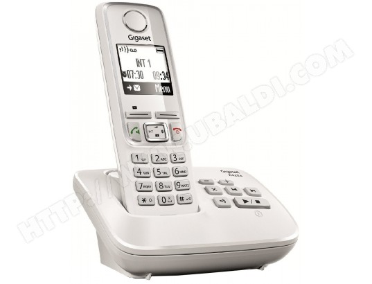 Téléphone sans fil SIEMENS GIGASET A420A Blanc