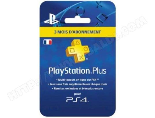 Playstation Plus - Abonnement 3 mois - PSN 3 Mois [Carte à Code] SONY MA-28CA461PLAY-S0MN8