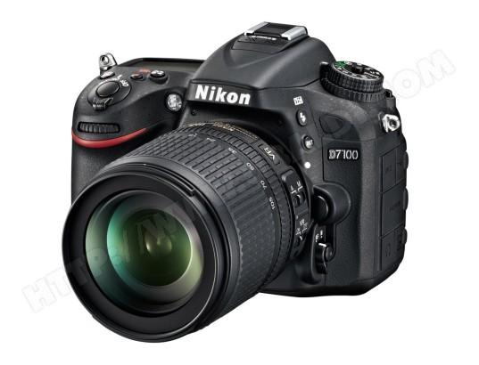 Appareil photo numérique reflex NIKON D7100 + AF-S DX 18-105mm VR