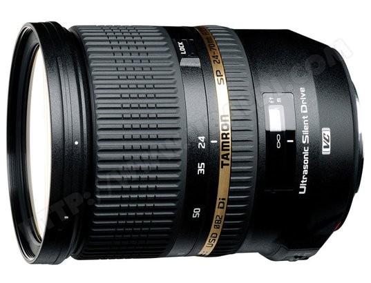 Objectif Reflex TAMRON SP 24-70mm F/2.8 Di pour Nikon