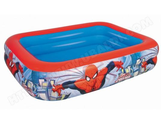 piscine enfant bestway piscine play pool spider man 98011b. Black Bedroom Furniture Sets. Home Design Ideas