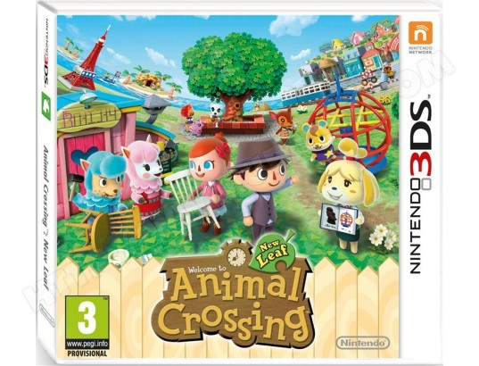 animal crossing new leaf 3ds pas cher neuf. Black Bedroom Furniture Sets. Home Design Ideas