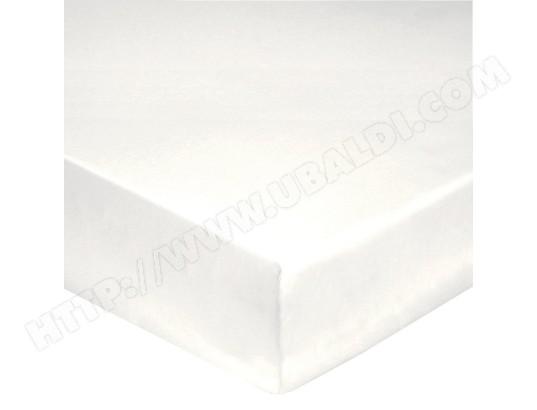 Drap housse HANS Drap housse 140x190 blanc percale