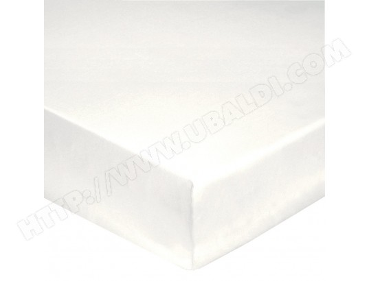 Drap housse HANS Drap housse 180x200 blanc percale