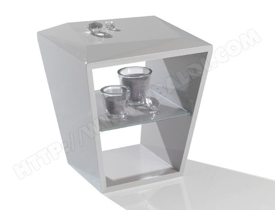 bout de canap antoine motard bout de canap diamond gris. Black Bedroom Furniture Sets. Home Design Ideas