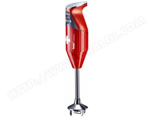 Mixeur BAMIX MX100080 Swissline rouge M200