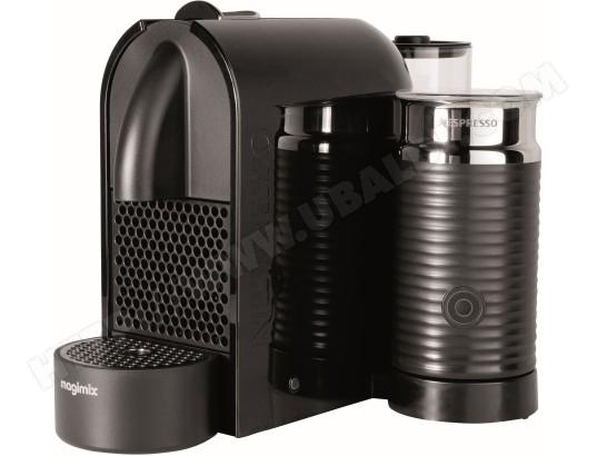 magimix 11344 u m130 milk noir pas cher nespresso livraison gratuite. Black Bedroom Furniture Sets. Home Design Ideas