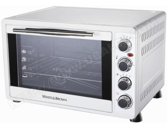 Mini four WHITE AND BROWN MF448