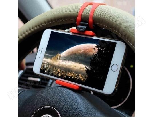 Support Voiture Volant pour HTC Desire 10 lifestyle Smartphone