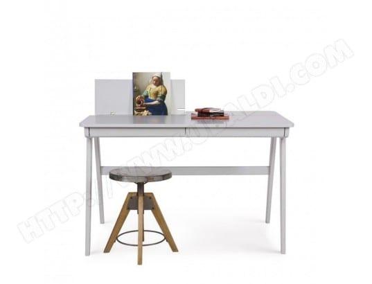 Bureau informatique en bois cambridge couleur gris drawer ma