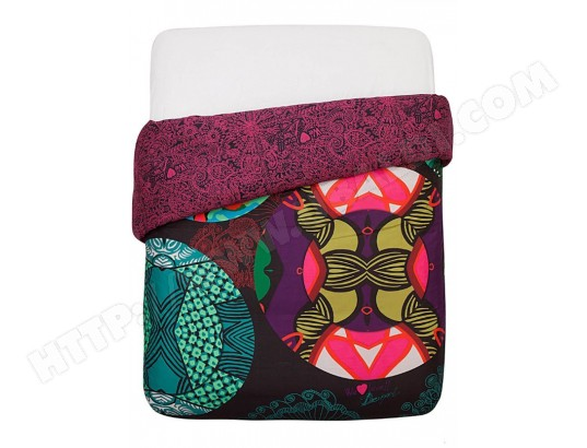 housse de couette desigual kaleidoscope hdc 240x220 3135 pas cher. Black Bedroom Furniture Sets. Home Design Ideas