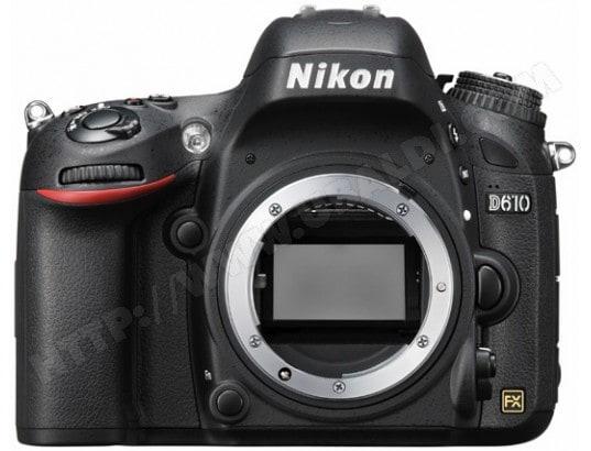 Appareil photo numérique reflex NIKON D610 boitier nu