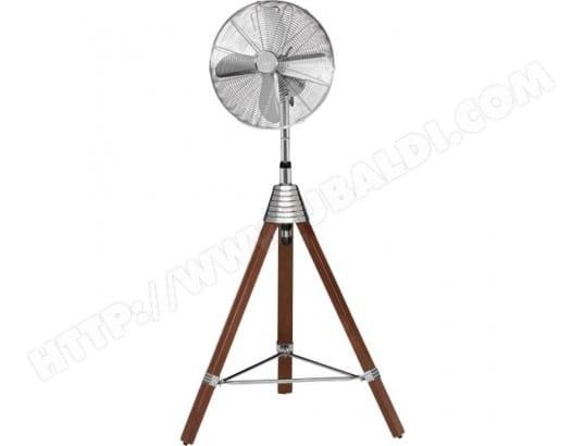 Ventilateur sur pied 50 W (Ø x h) 40 cm x 760 mm argent bois AEG MA-4_CA51_VENT-W4VMD