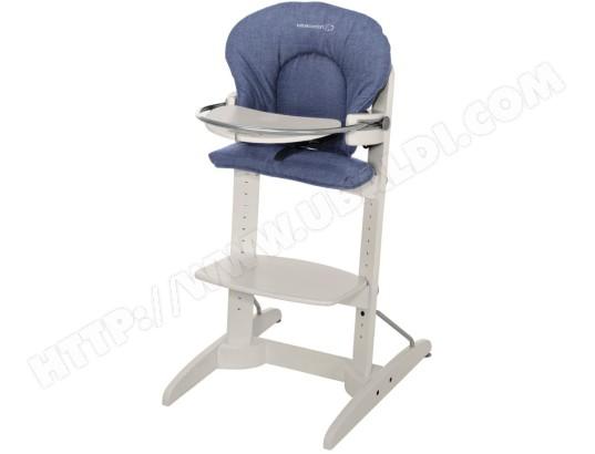 Évolutive Woodline Denim Confort Haute Chaise Collection Bebe Divine hxsQtrdC