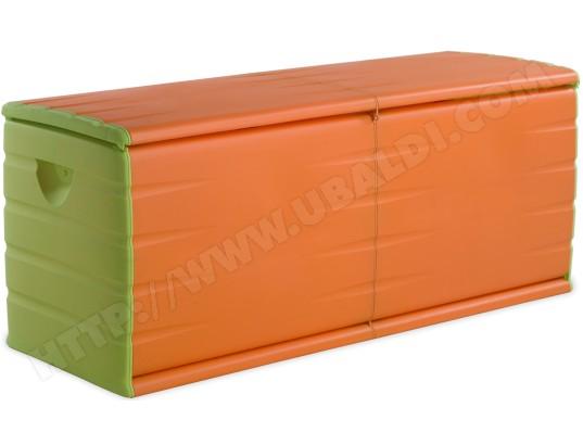 Coffre de rangement PLASTIKEN 97153 Orange et vert 500 Litres Pas ...