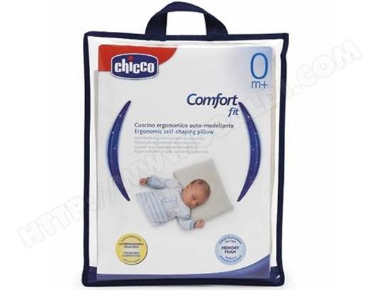 oreiller chicco Oreiller rectangle CHICCO Oreiller ergonomique à mémoire de forme  oreiller chicco