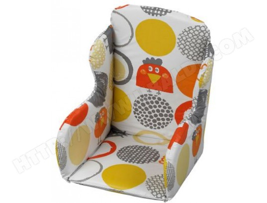 coussin chaise haute geuther r ducteur poussin orange 4731 26 pas cher. Black Bedroom Furniture Sets. Home Design Ideas