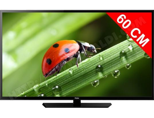 haier le24m600cf tv led full hd 60 cm livraison gratuite. Black Bedroom Furniture Sets. Home Design Ideas