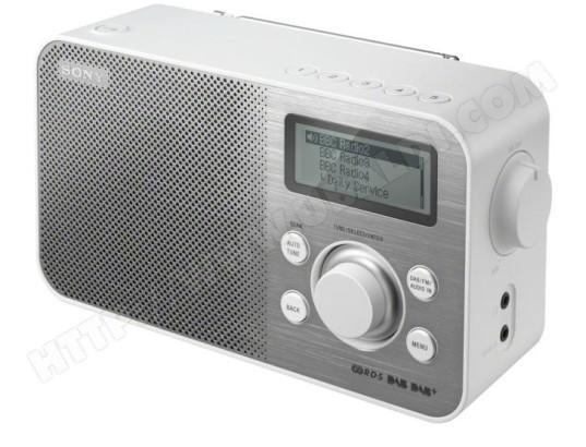 Radio FM SONY XDR-S60DBP Blanc (compatible DAB/DAB+)