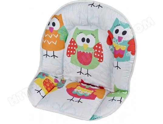 coussin chaise haute geuther r ducteur de chaise chouette 4737 131 pas cher. Black Bedroom Furniture Sets. Home Design Ideas