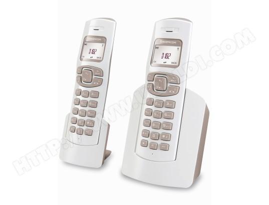 Téléphone sans fil SAGEM D182 Duo
