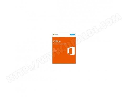 Pack Office Famille Et Etudiant Microsoft 79 G 04630 Microsoft Ma