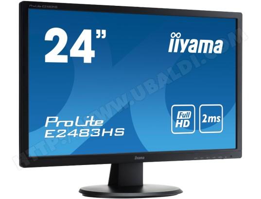 Ecran 24 pouces Full HD IIYAMA Prolite E2483HS-B1