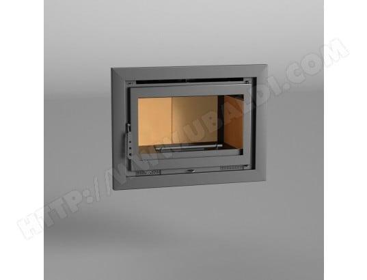 FM Insert de cheminée I-180 12,5kW avec porte en fonte FM BIOMASA MA-76CA531FMIN-AW20D