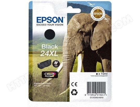 Cartouche d'encre EPSON T2431 XL Elephant noir