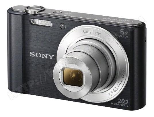 Appareil photo numérique compact SONY CyberShot DSC-W810 noir