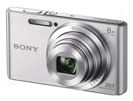 Appareil photo numérique compact SONY CyberShot DSC-W830 silver