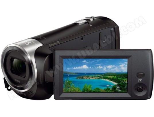 Caméscope carte mémoire SONY HandyCam HDR-CX240E noir