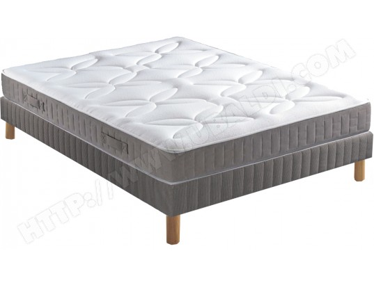 ensemble matelas sommier 160 x 200 pls lit liner sommier. Black Bedroom Furniture Sets. Home Design Ideas