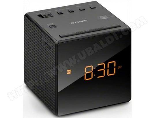 Radio réveil SONY ICFC1B Noir