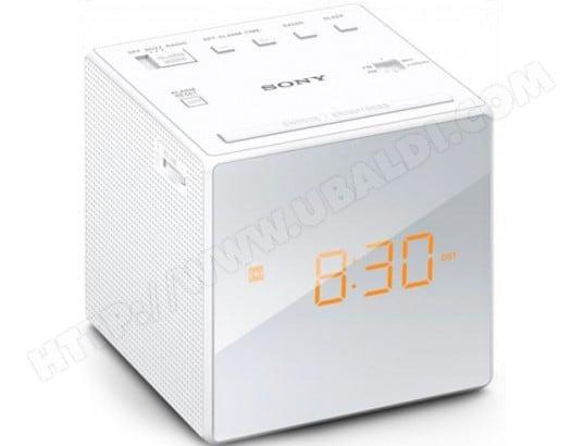 Radio réveil SONY ICFC1W Blanc