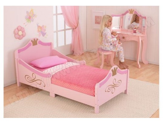 Chambre Fille Kidkraft : Lit enfant kidkraft princesse pas cher