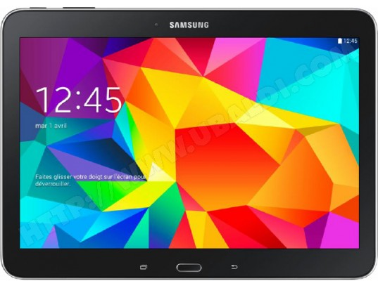 Tablette tactile SAMSUNG Galaxy Tab 4 10.1'' (SM-T530) Wifi - 16 Go noire