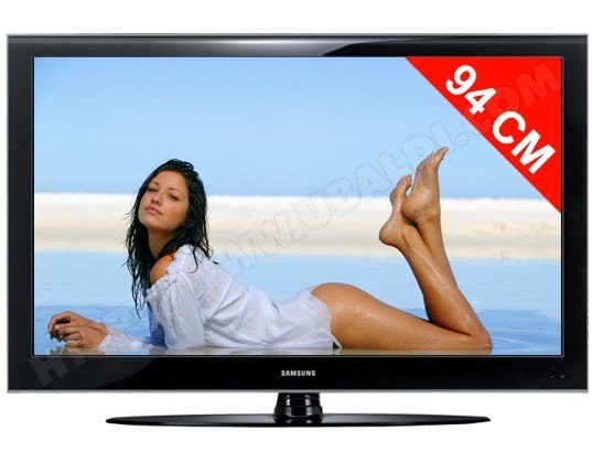 samsung le37a568 tv lcd full hd 94 cm livraison gratuite. Black Bedroom Furniture Sets. Home Design Ideas