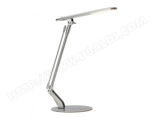 Lampe de bureau led articulée en métal chromé hauteur cm brendan