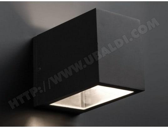 Applique électrique extérieure carrée en fonte daluminium hauteur