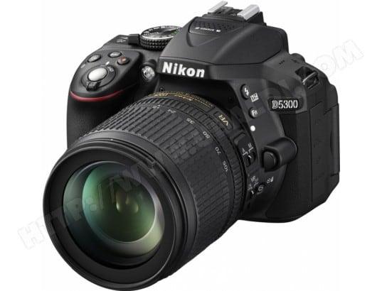 Appareil photo numérique reflex NIKON D5300 + Objectif 18-105 mm VR