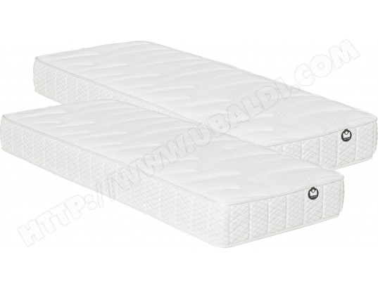 matelas 80 x 200 bultex i novo 935 relaxation 2x80x200 pas cher. Black Bedroom Furniture Sets. Home Design Ideas